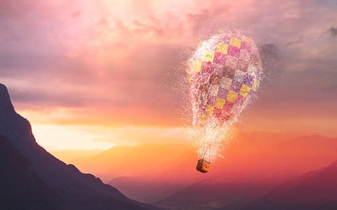 hot air balloon energy